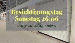 Vermietete Garage mit 6,17 % Rendite für Anleger I Box 4