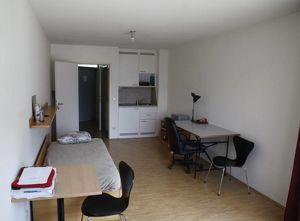 Big and luminous room at Studentenheim Leonardo