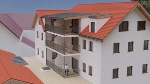 NEUE EIGENTUMSWOHNUNG MIT ca. 66 m² + 11 m² BALKON - STEYR WEHRGRABEN - ERSTBEZUG