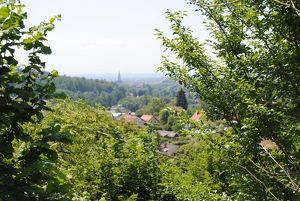 Traumgrundstück in Maria Trost, tolle Aussichtslage mit Blick auf die Herz Jesu Kirche