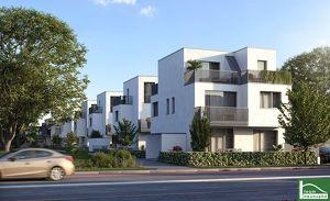 AUFGEPASST!! Exklusive Doppelhaushälften - 4 Zimmer + Terrasse und Gartenreich! EIGENGRUND - Nähe Leopoldauer Platz! Großzügige Freiflächen!!