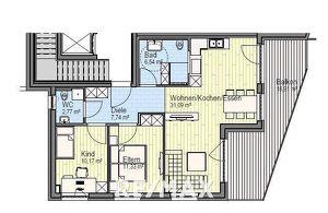 3-Zimmer-Mietwohnung in Traumlage!