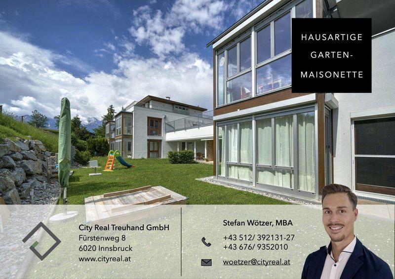 Garten-Maisonette / fast wie ein Haus