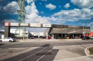 1.408 m² VERKAUFS- UND AUSSTELLUNGSFLÄCHE in 1230 Wien, Vorarlberger Allee, Auffahrt S1 - Gewerbezone Inzersdorf!