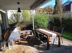 Traumhafte 4-Zimmer-Gartenwohnung im Herzen von Dornbirn mit großem Sitzplatz (provisionfreier Privatverkauf)