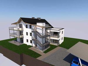 Erstbezug 2-Zi.-Wohnung mit Sonnenterrasse und Garten zur Miete