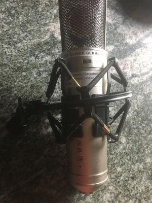 BPM CR 76 (Neumann Clone) Kondensator-Studiomikrofon