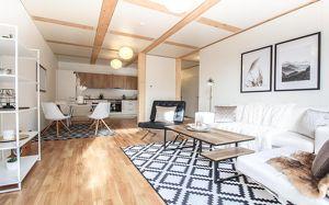Großzügige 2,5-Zimmer-Wohnung, provisionsfrei und top ausgestattet! Erstbezug