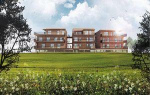 NEUBAU! Provisionsfreie 2-Zimmer-Eigentumswohnung mit ca. 20 m² Terrasse in Bad Radkersburg