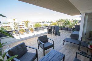 Ruhiger Jungfamilientraum mit großer und sonniger Dachterrasse!