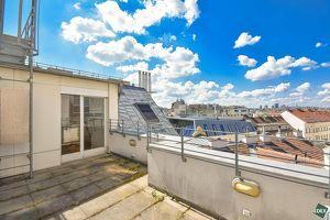 Exklusive 5-Zimmer-Maisonettewohnung mit 2 Terrassen nahe der Innenstadt