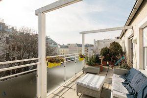 Traumhafte 94m² Dachgeschoß - Maisonette mit 20m² Südterrasse ohne Dachschrägen