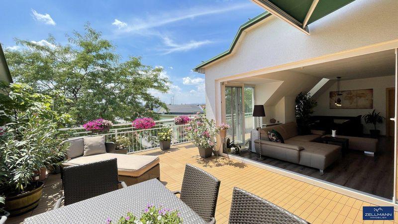 absoluter Terrassentraum mit 4 Zimmer |ZELLMANN IMMOBILIEN