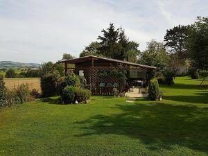 Ruhige Gartenanlage mit Wochenendhaus