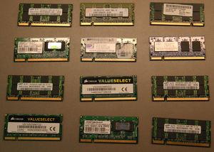 div. DDR2-Arbeitsspeicher (SO-DIMM)