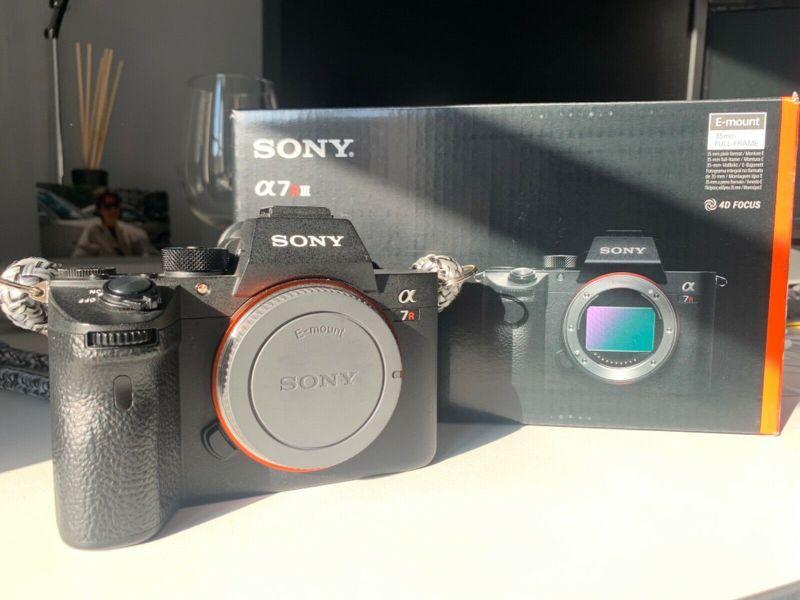 Sony Alpha 7R III 42,4Mp Digitale Vollformat-Kamera