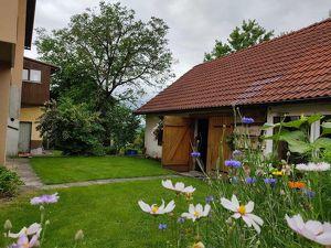 Schönes Ortshaus mit zwei Wohneinheiten und hübschem Garten