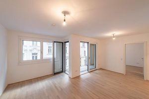 Six in the City: Hochwertiges Neubau-Apartment!! BESTLAGE, 2-Zimmer ZWEITBEZUG mit Loggia! ***RUHELAGE***