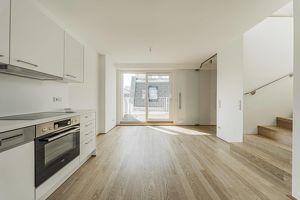 Moderne 3-Zimmer Maisonette DG Wohnung mit 2 Terrassen in 1080 Wien!