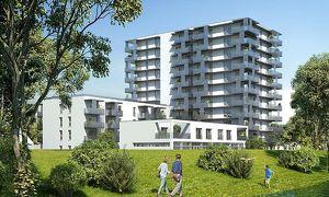 Geräumige 2-Zimmer-Wohnung Erstbezug inkl hochwertiger Küche, 9,29m² Balkon und Kellerabteil - Blick auf Hirschstettner Badeteich/Z86 OG8