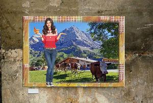 Victoria Justice. Überraschung. Lustig. Kunstdruck 45x30 cm. Souvenir. Fanartikel. Geschenk. Sammlerstück. Dekoration. Seltenheit. BRANDNEU!