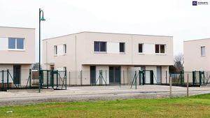 Schnell zugreifen: Ideal aufgeteilte 4-Zimmer Doppelhaushälfte mit idyllischem Eigengarten in Wien-Nähe!