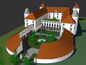 Großzügiges Wohnen in Schloss-Atmosphäre