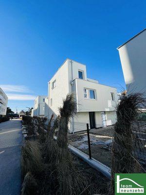 !!EIGENGRUND!! Tolle Doppelhaushälften im 21. Bezirk! BELAGSFERTIG! 4 Zimmer + Balkon + Terrassen! Ziegelmassiv Bauweise!