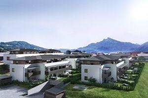Moderne 4 Zimmer - Gartenwohnung, NEUBAU - zwischen Mondsee und Irrsee auf Baurecht! PROVISIONSFREI