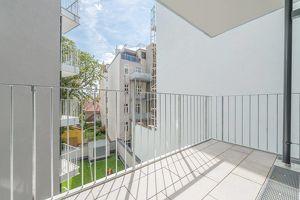 Ab sofort beziehbar ~ zentral gelegene 2-Zimmer-Wohnung mit Innenhof-Balkon ~ (nahe U6 Burggasse)