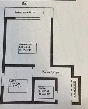 Haustiere erlaubt! MIETE *hübsche 1 Raum Wohnung mit extra Küche und Balkon!