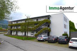 Schöne 3-Zimmer Dachgeschosswohnung mit Balkon in Schwarzach