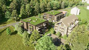 Tolle NEUBAU-Gartenwohnung am Klopeiner See mit ca. 48 m² Wohnfläche, Terrasse und Eigengarten, TOP 2, Haus 3, EG