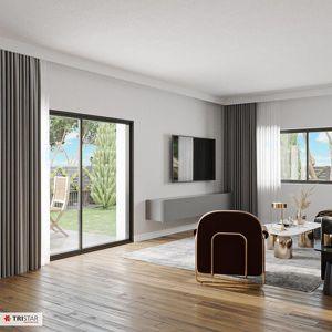 (PRIVATSEE IN PARNDORF) ++NEU++ Einzigartige 4-Zimmer Doppelhaushälfte am privaten Badesee!! (belagsfertig)