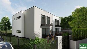 Schlüsselfertiges Designerhaus mit großem Garten in Auersthal! ERSTEZUG