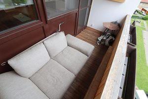 TOP Raumaufteilung und SONNE am Balkon