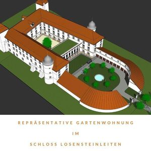ERSTBEZUG: Repräsentative 83 m² Gartenwohnung im Schloss Losensteinleiten!
