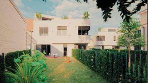 Provisionsfreies 120m² Ziegelmassivhaus mit Eigengarten + Dachterrassen, 5 Zimmer, vollunterkellert, Abstellplatz- H4