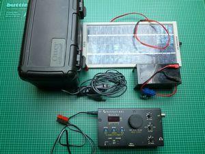 Elecraft KX1 QRP Transceiver 3 Band CW mit Zubehör