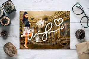 Ariana Grande Star Souvenir. Super Deko. Geschenkidee.  Einmalig! Wandbild. Neuheit! Sammelobjekt. Zimmerdeko. Blickfang!