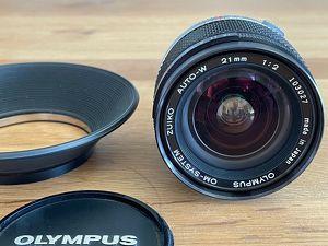 Olympus OM Zuiko Auto-W 21mm F2 1:2 Weitwinkelobjektiv