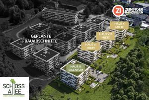 Neubauprojekt Schwertberg Schlossallee, 3-Zimmer-Miet-/Mietkaufwohnung