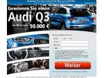 Audi Q3 Gewinnspiel