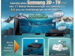 Samsung 3D TV und eine Bluray Heimkinoanlage