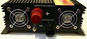 Umformer Stromversorgung von 12V DC auf 230V AC - 1500W Dauerleistung