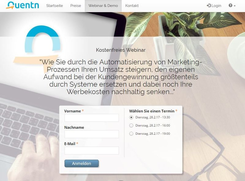 Mehr Business durch smarte eMail Marketing Automation- gratis Webinar