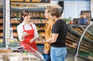 Verkäufer w/m für einen Supermarkt