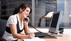 Telefonischer Kundenberater im Homeoffice