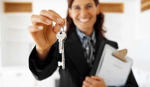 Aushilfe für Immobilienmakler