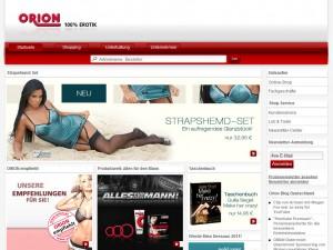 Orion Erotikversand. Ihr Sex und Erotik Versand - Erotikshop Erotikartikel